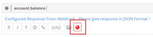 smart replies webhook
