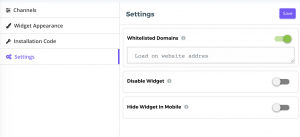 widget-settings
