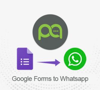 Google Form to WhatsApp