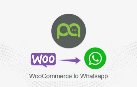 WooCommerce to WhatsApp