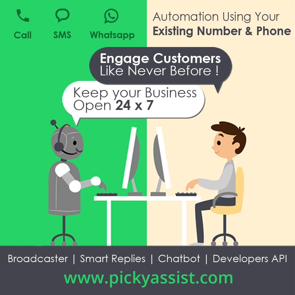 Whatsapp Business API | Developers API | Chat Bot | Social CRM